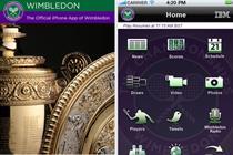 Wimbledon and Pizza Express top BR app chart