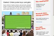 Oxfam reviews digital account