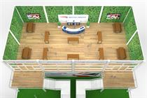 British Airways creates two-tier experiential fanzone at Twickenham