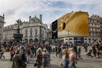 Piccadilly Lights to promote BBC series The Planets
