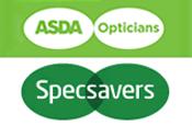 Specsavers and Asda clash over logo similarities