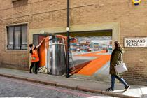 B&Q stages 3D illusion for store opening