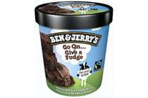 Ben & Jerry's urges Londoners to 'give a fudge' and vote