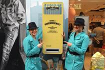 In pictures: Benefit's Twitter-powered vending machines launch in London