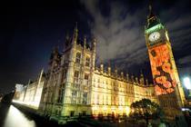 Big Ben is not a billboard
