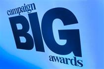 Shortlisted agencies revealed for Campaign Big Awards