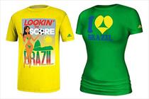 Adidas withdraws 'sexualised' World Cup T-shirts after Brazil backlash