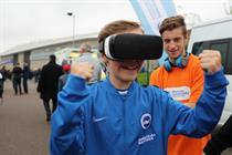 Brighton & Hove Albion bring VR experience to the Amex Stadium