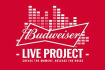 Budweiser reveals details of live music offering