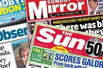 NEWSPAPER ABCs: Sun on Sunday loses 2-1 advantage over Sunday Mirror