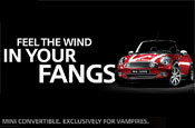 Gillette and Mini ads target vampires for True Blood launch