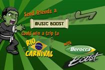 Berocca rolls out 'music boost' digital campaign