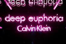 Behind the scenes: Launch of Calvin Klein's Deep Euphoria perfume