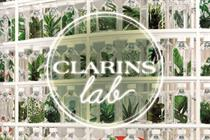Clarins wants to appeal to our senses with pop-up
