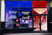 Coca-Cola opens Stranger Things-inspired Palace Arcade