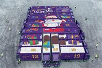 Cadbury to create giant advent calendar for Christmas