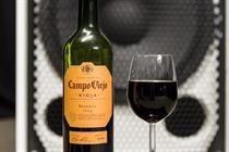 Campo Viejo wine notes recreated as musical notes by 'synaesthete' Nick Ryan
