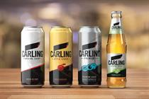 Carling aims for simplicity with brand refresh