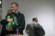 Event TV: Carlsberg stages free crates stunt at City Airport