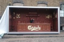Carlsberg's Shoreditch chocolate bar aims to take the lager beyond football fans