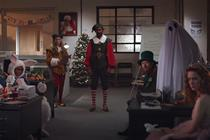 Holiday mascots overcome their differences in Channel 4's irreverent Christmas ad