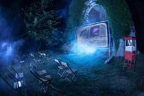 Three creates ghostly cinema at UK's most haunted village