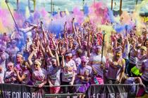 Skittles brings Tropical Tour to the Color Run