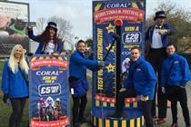 Coral unveils circus activation at Cheltenham Festival