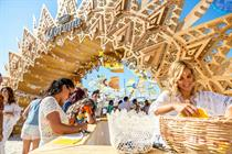 Corona devises beach music festival concept
