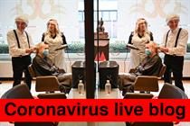 Coronavirus live blog: John Lewis launches virtual personal-shopping service