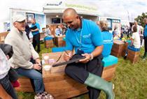 British Gas hands Because Sustainability Café roadshow brief