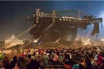 Safety warning for stage builds at Olympics and Jubilee