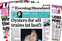 NEWSPAPER ABC: Lebedev and Greig inherit further decline at Evening Standard