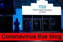 Coronavirus live blog: 25 April-1 May