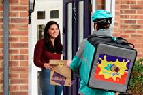 Cadbury Creme Egg and Deliveroo hook up for Valentine's