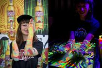 Desperados takes beer and body-painting to festivals