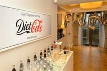 Behind the scenes: Diet Coke hosts the 'perfect night in'