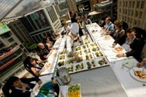 Events in the Sky to launch aerial open-air pop-up restaurant