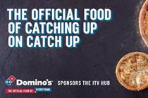 Domino's to sponsor ITV's video on demand offering
