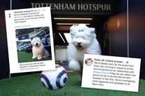 Dulux makes a dog's dinner of Spurs sponsorship