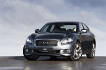 Infiniti launches pan-European drive for new model