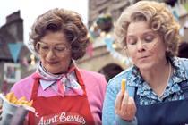 Aunt Bessie's hands creative account to Grey London
