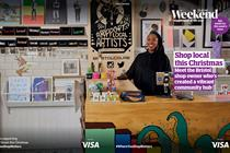 Visa partners Guardian to celebrate high street