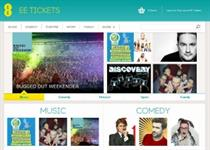EE launches events ticketing service