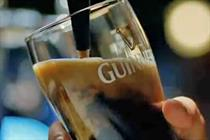 Guinness cloud pours over New York in latest TV spot