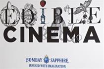 Edible Cinema and Bombay Sapphire create film sensory experience