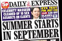 NEWSPAPER ABCs: Daily Express outperforms market in May