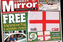 NEWSPAPER ABCs: Sunday Mirror gains as Sunday Sun falls another 2.4%
