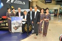 In pictures: Singapore Airlines brings the Grand Prix to Canary Wharf