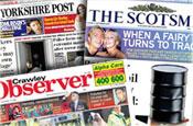 Johnston Press reports 28% profits drop and ad revenue slump